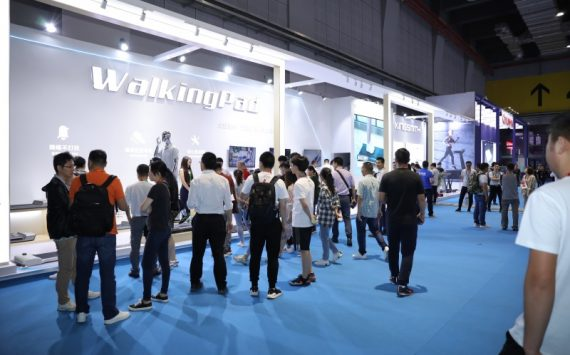WalkingPad won a good reputation with a unique foldable design at China Sport Show 2019